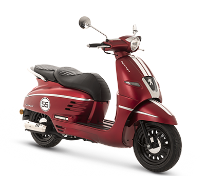 DJANGO 50 4T RED - DJ4TOYRT4 - Peugeot Motocycles