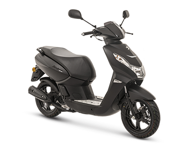 KISBEE 50 2T BLACK EDITION - KSB2TOYDH6 - Peugeot Motocycles