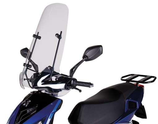 Pare-brise haut Speedfight - A06102 - Peugeot Motocycles